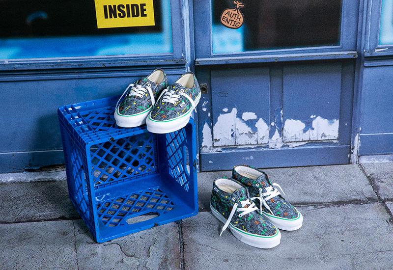 Cultura street y high fashion: Vans x Fergus Purcell