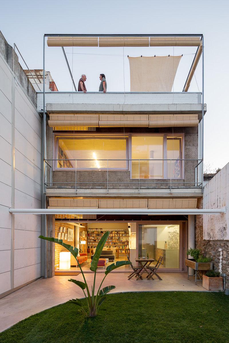 Casa-estudio bioclimática en el mediterráneo
