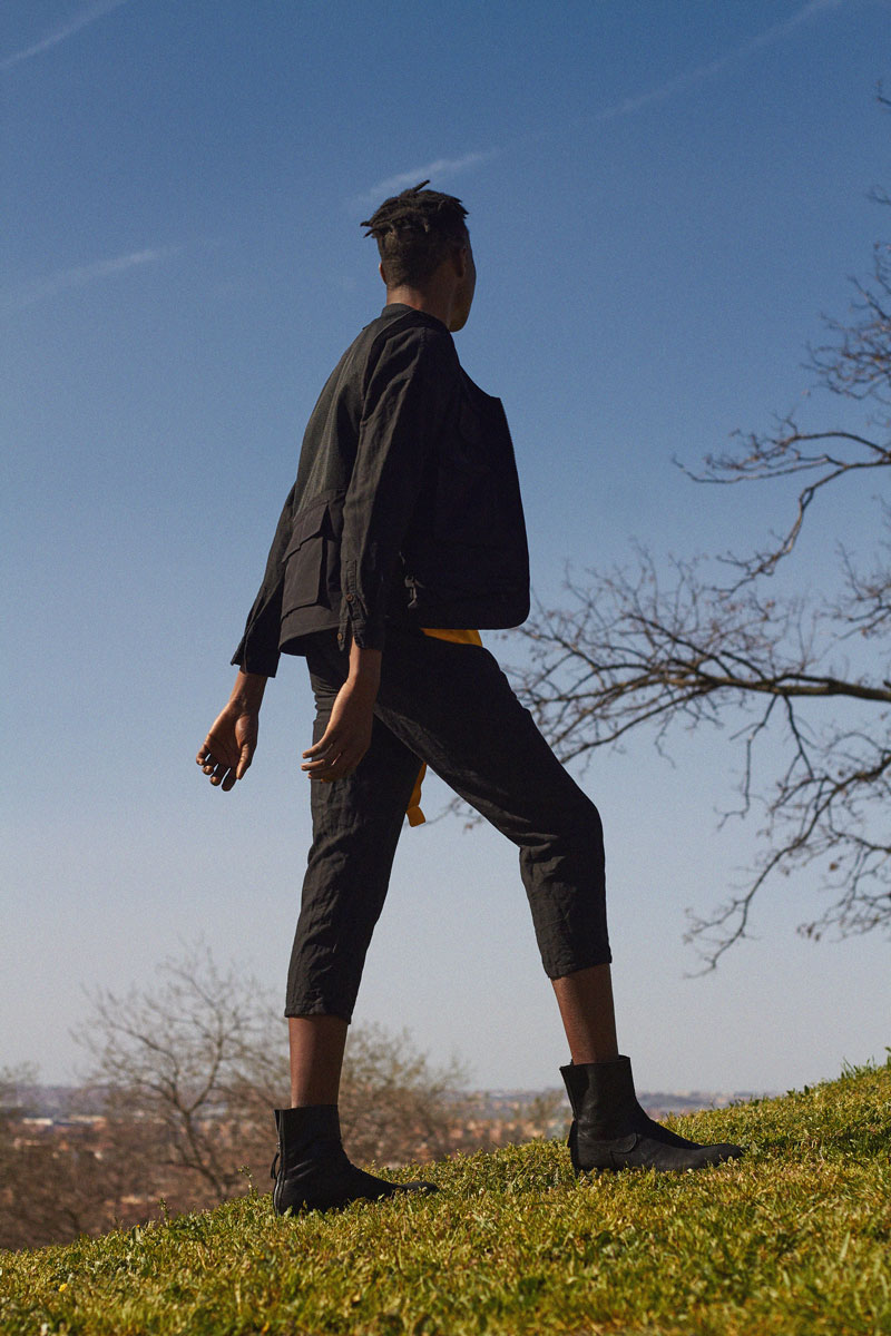 Estado Libre, editorial de moda por Claudia Tamara