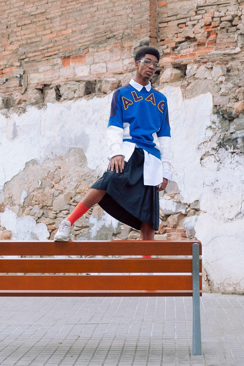Montjuic, escenario en esta historia de moda x Manuel Soria