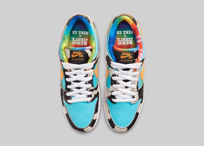 Las zapatillas Nike Ben and Jerry's que parecen un helado