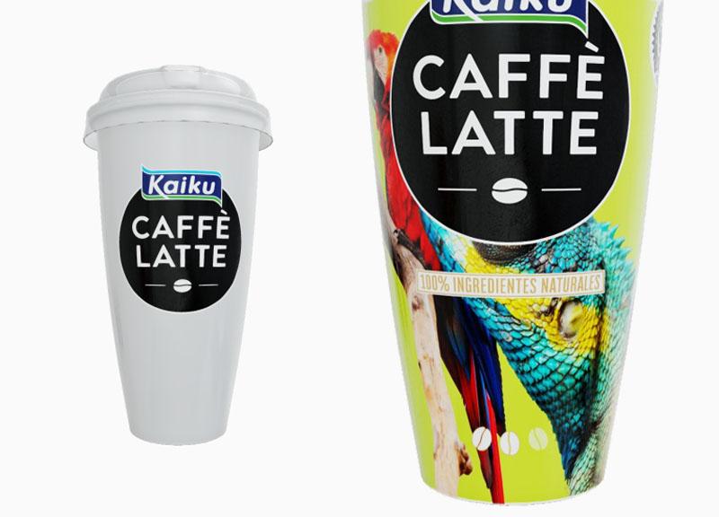 Alex Marcos embajador del concurso Kaiku Caffè Latte
