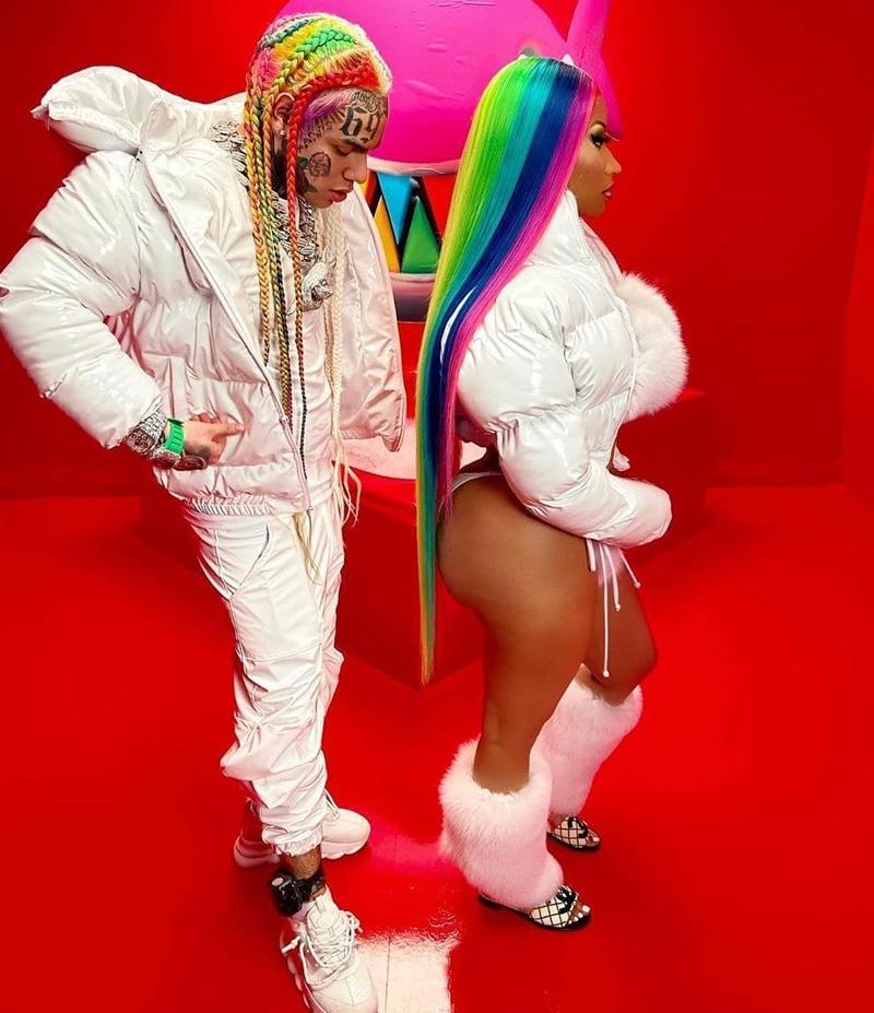 6ix9ine y Nicki Minaj,Trollz, nueva polémica
