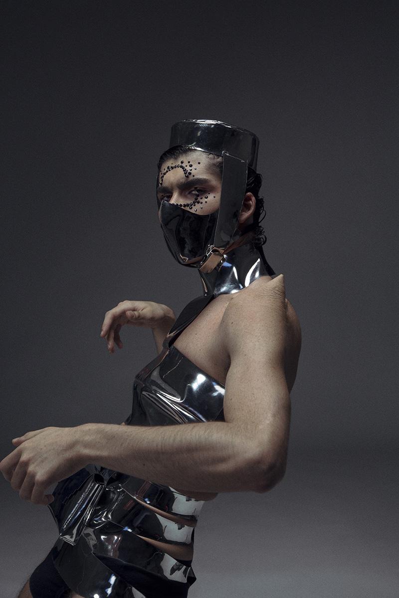 Editorial inspirado en los 80: Fashion of the Outer Space