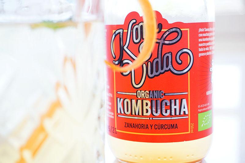 Komvida: refrescos de kombucha como mixer de cócteles