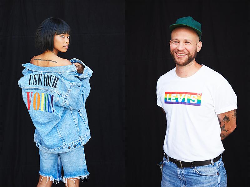 Alza la voz con la nueva colección Levi's Pride 2020