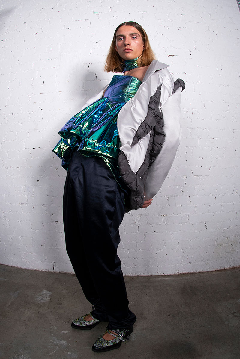Linus Leonardsson: A Rave New World fashion film