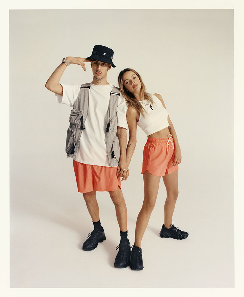 Luna Sobrino y Kidd Keo x Bershka