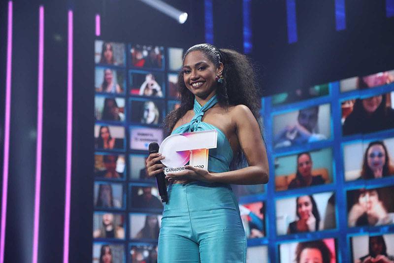 Nia, ganadora de Operación Triunfo 2020