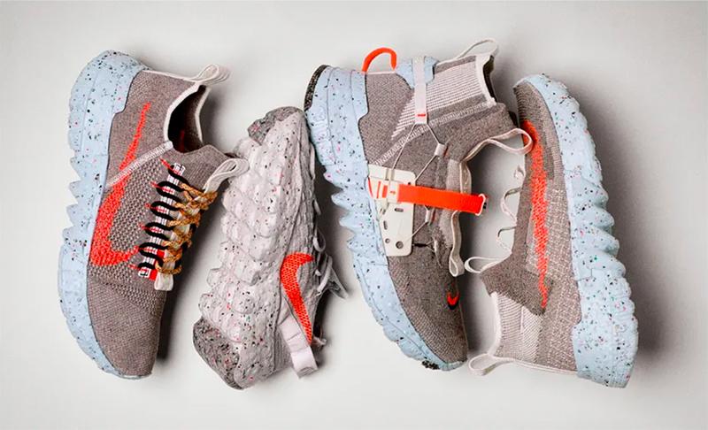 Nike transforma la basura en zapatillas