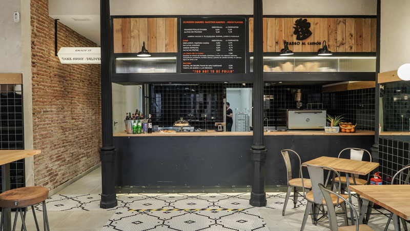 Restaurante Piri Piri: pollo portugués al carbón en Madrid