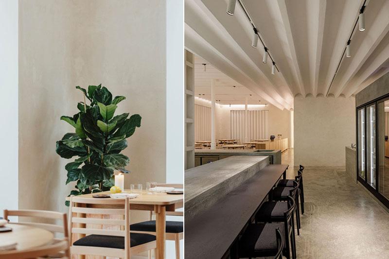 Restaurante Meridional: pureza sureña y minimal en Sevilla