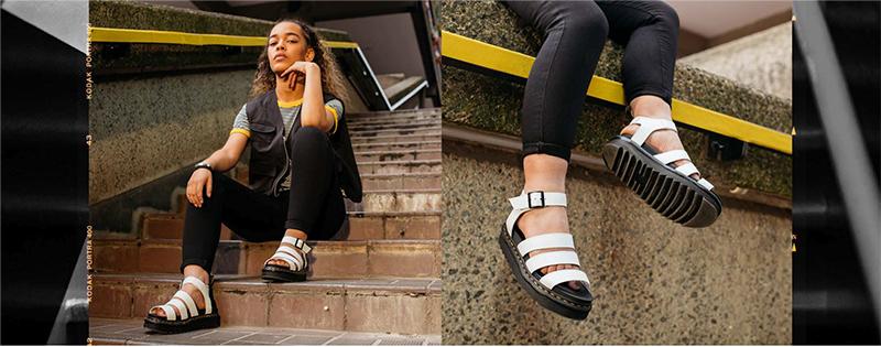 Las sandalias más ligeras de Dr. Martens
