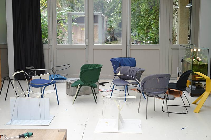 Funda, la nueva colección de Diez Office para Viccarbe