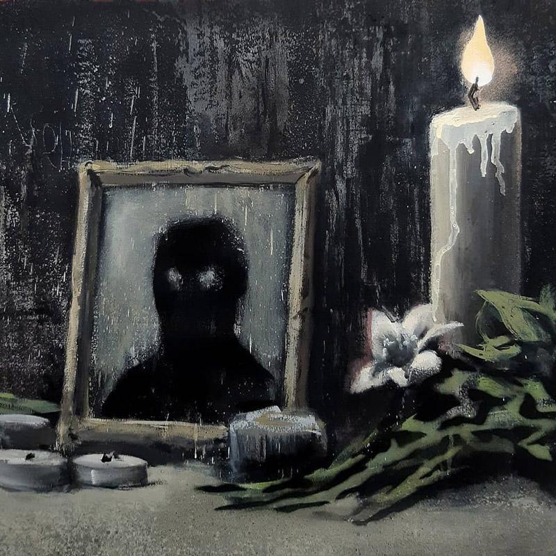 El homenaje de Banksy a George Floyd contra el racismo