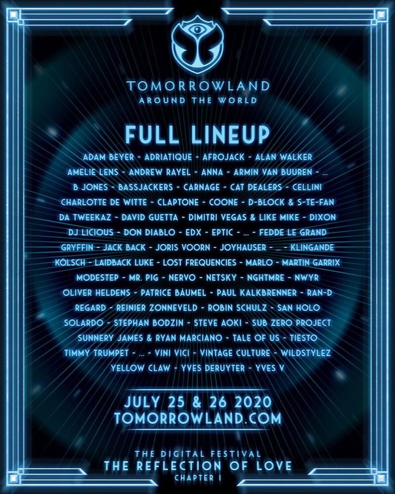 Tomorrowland 2020 en versión digital