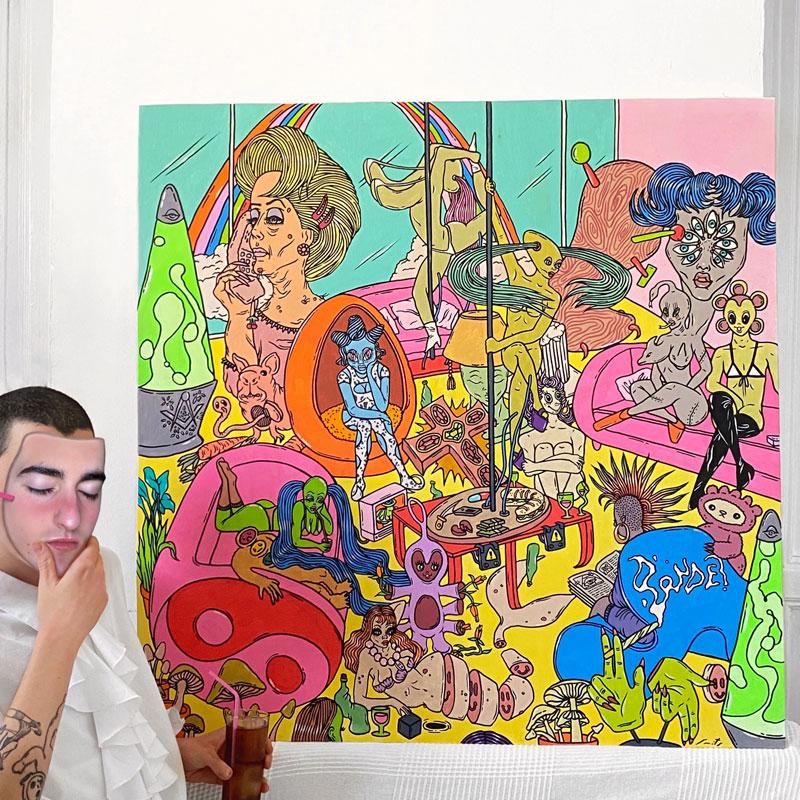Charlie Smits el ilustrador musical más de moda