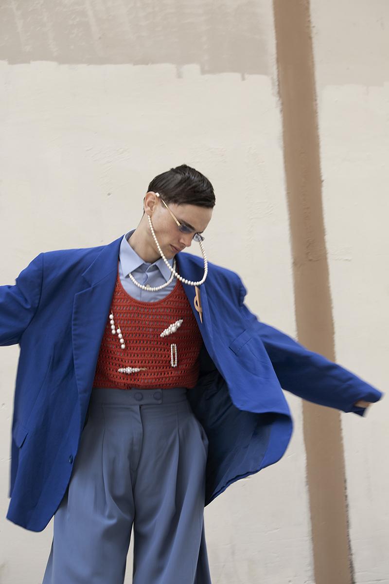 Editorial de moda masculina por José Martínez