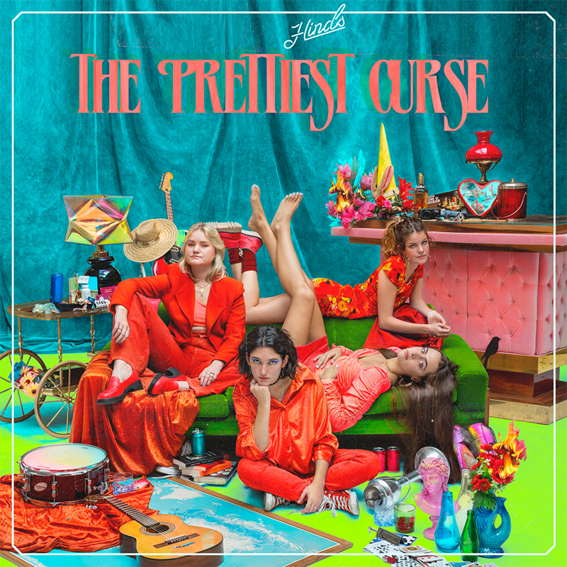 Hinds vuelven con su tercer disco The Prettiest Curse