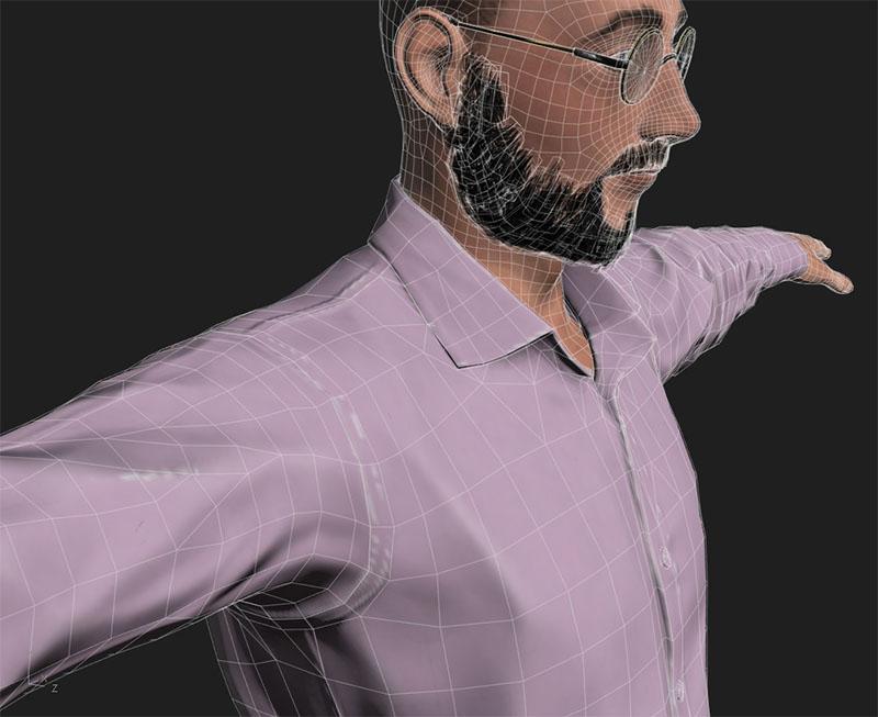 Iván Royo presenta el primer desfile de moda 3D en España
