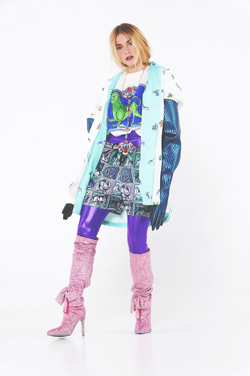 Anel Yaos y el arte de mezclar moda española