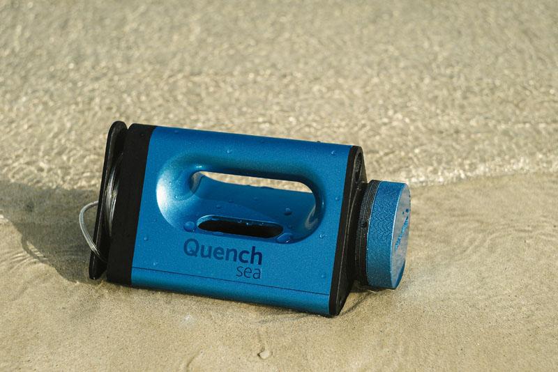 Quench Sea: La magia de un desalinizador low-cost
