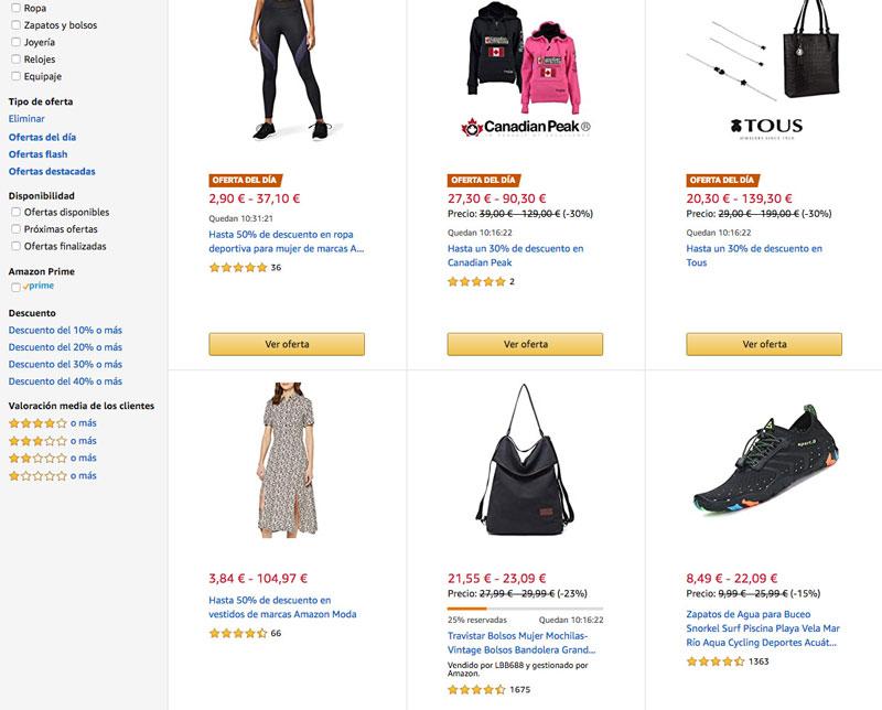 Las Rebajas de Amazon Fashion comienzan hoy