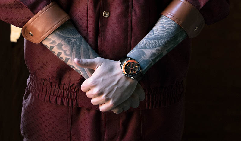 Reloj Gucci Dive en colaboración con Fnatic