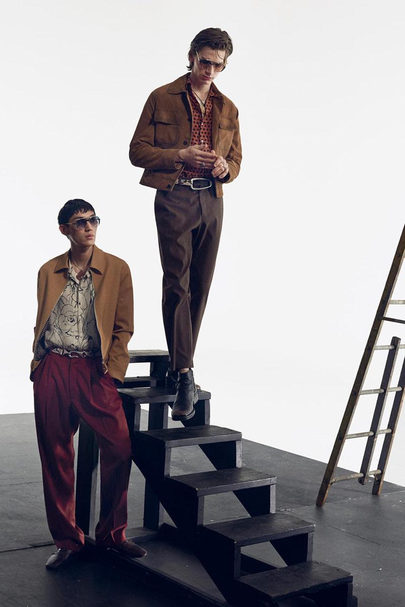 Zara Man 2020 y su campaña inspirada en el bailarín Nuréyev