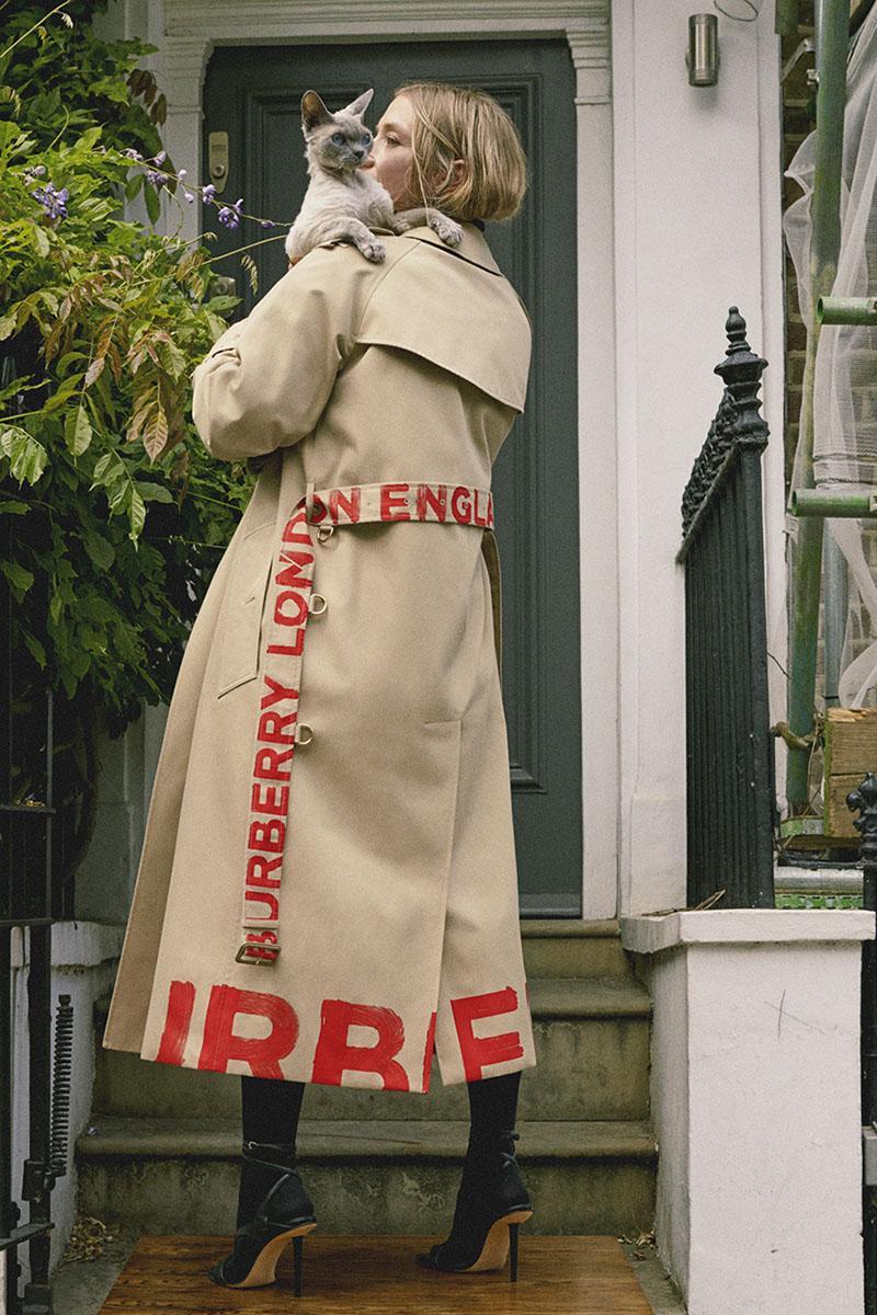 Burberry SS21, una celebración al legado de la marca
