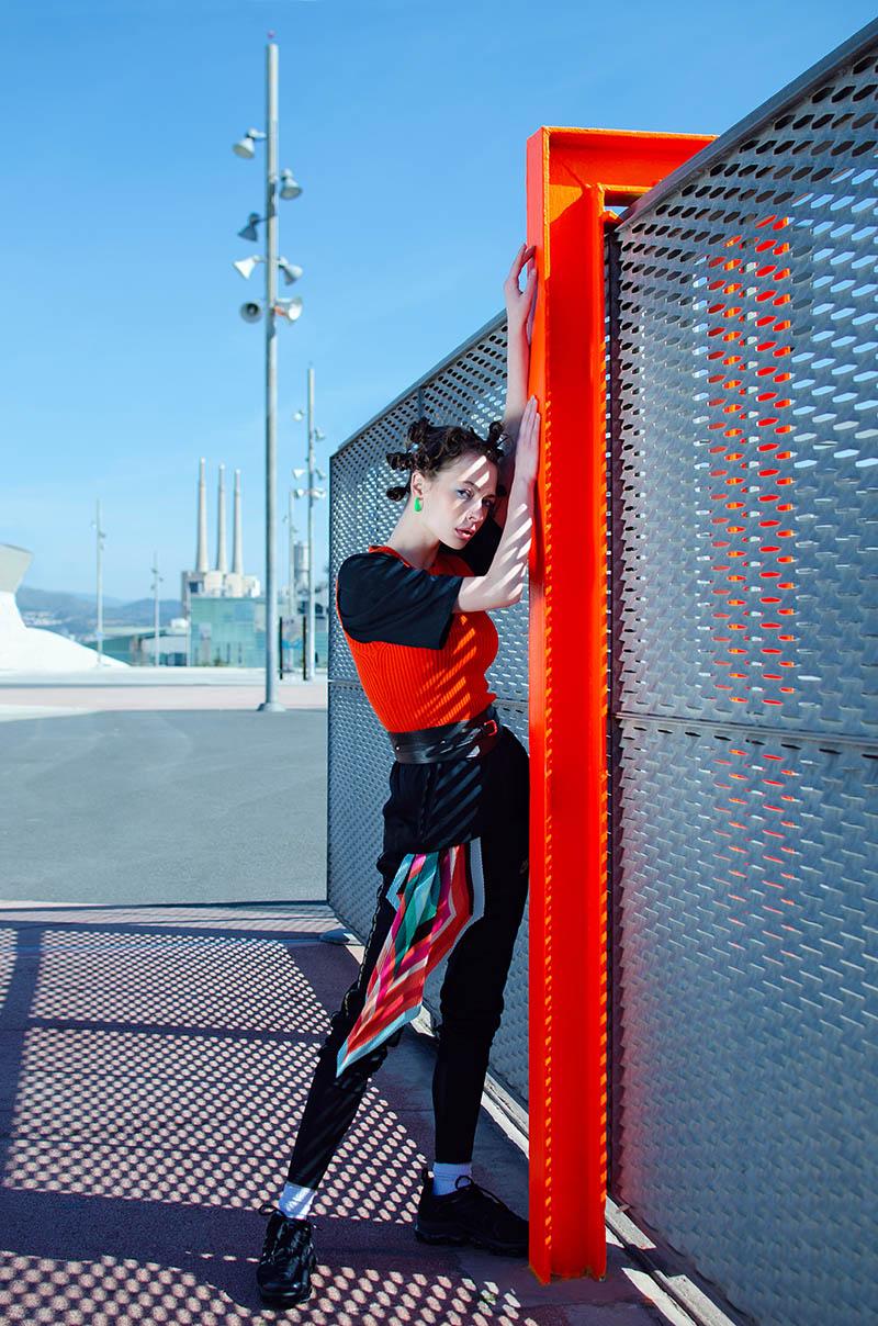 Editorial de moda deportiva: I am