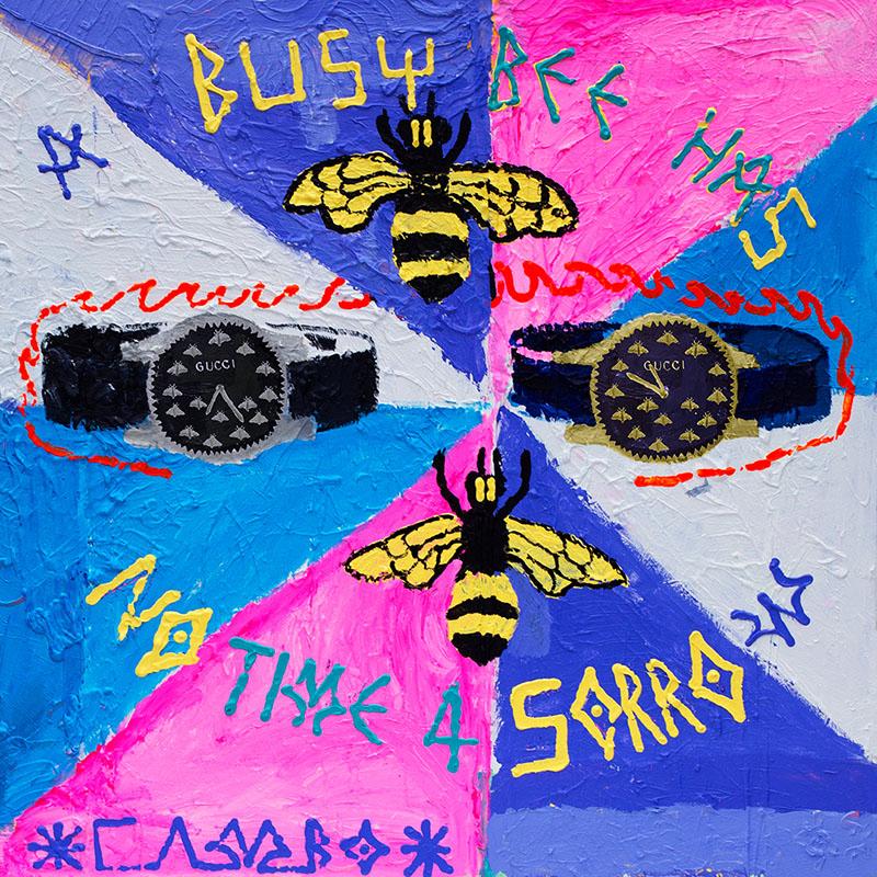 Gucci transforma sus relojes en arte