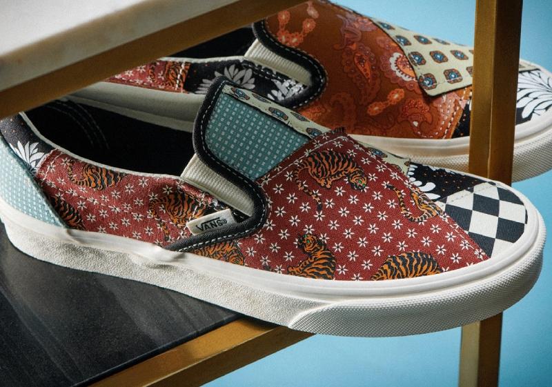 La nueva colección Tiger Patchwork de Vans