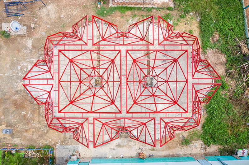 Pylonesque, la escuela eco-friendly de Pareid en Tailandia