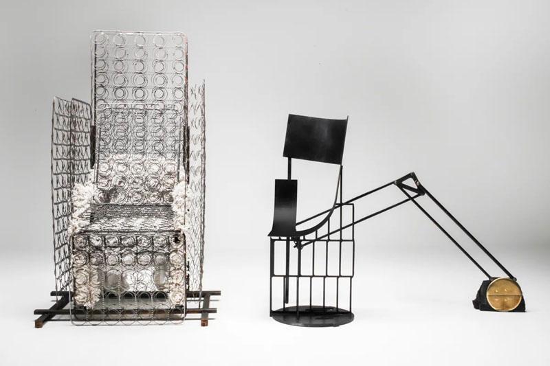 Los asientos experimentales de Lionel Jadot