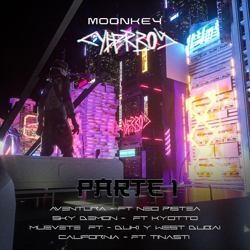 Moonkey es Cyberboy, el trap español más futurista