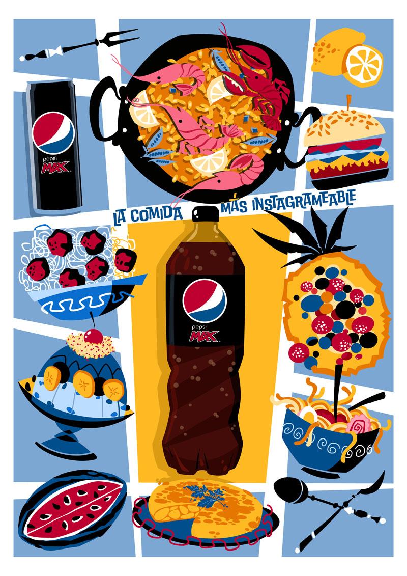 La nueva imagen de Pepsi Max, Abe The Ape y Manu Toro