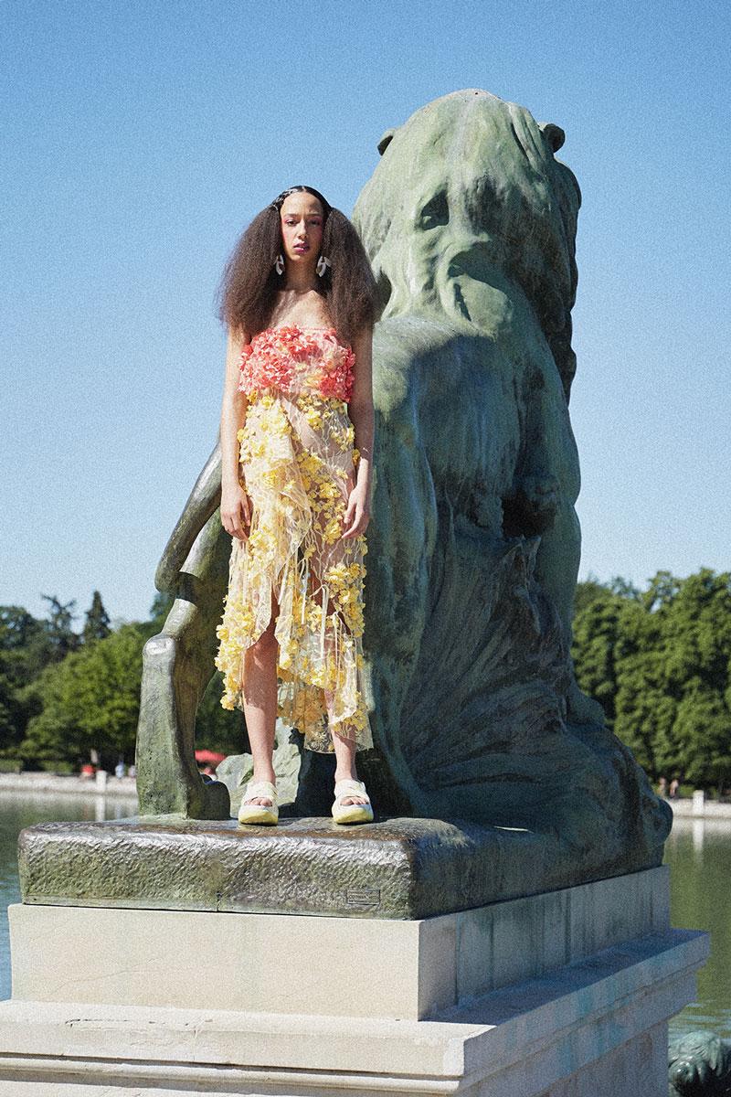 Verano en el Retiro, una historia de moda x Paula de Frutos