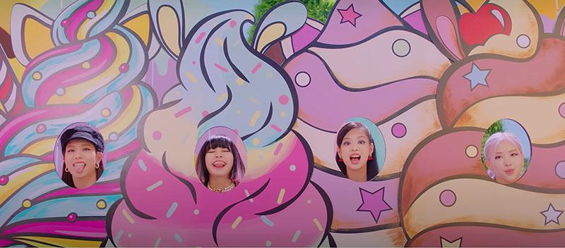 Blackpink y Selena Gómez juntas en Ice Cream