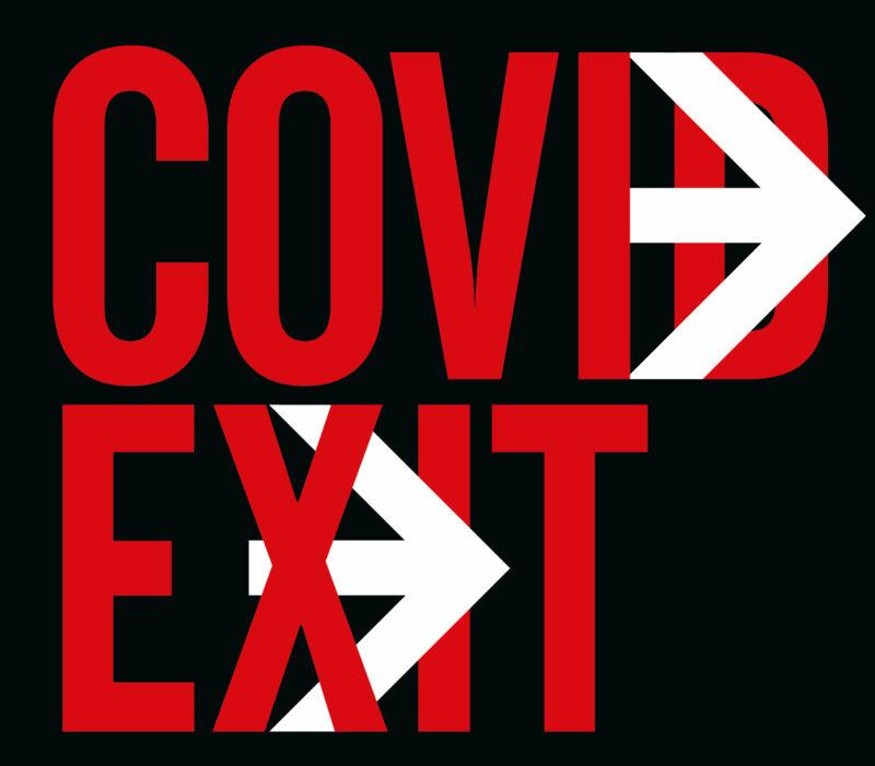 Covid Exit: temática de los carteles de Madrid Gráfica 2020