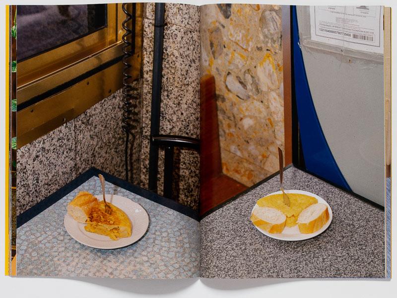 Gracias por su visita: el pincho de tortilla es bello