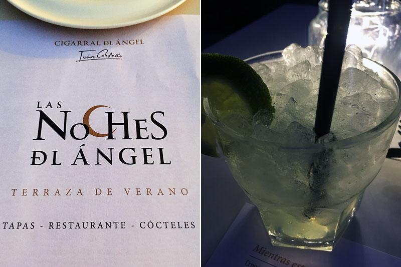 Las Noches del Ángel: daiquiris y croquetas frente a Toledo