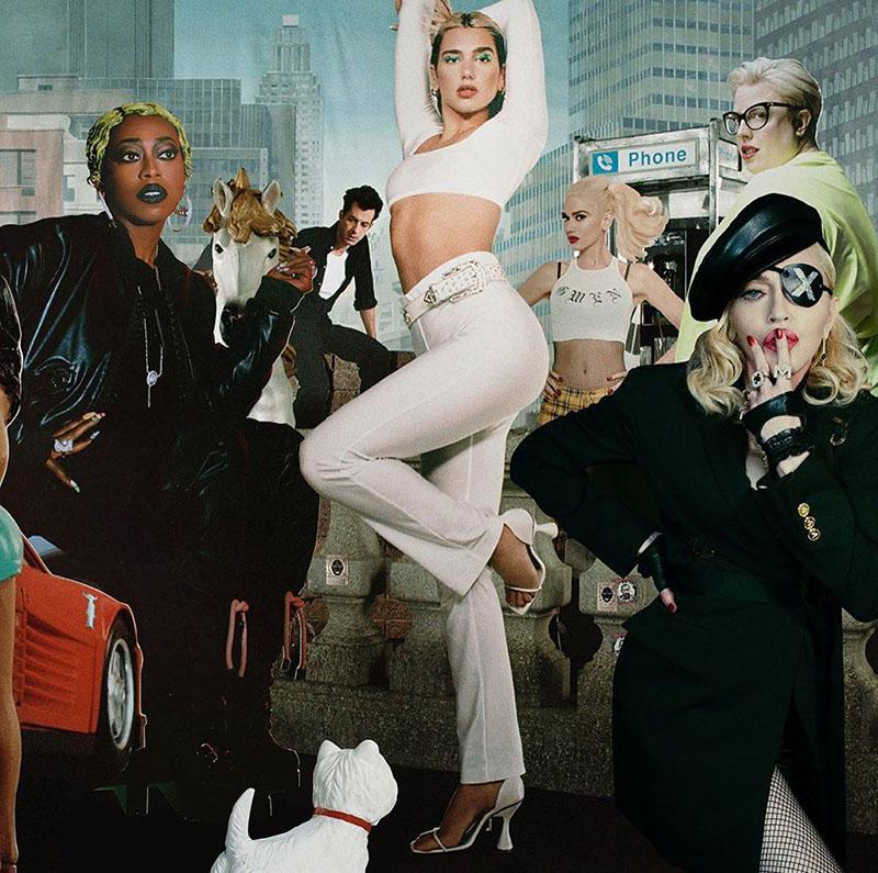 Dua Lipa, Madonna y Missy Elliott juntas en Levitating