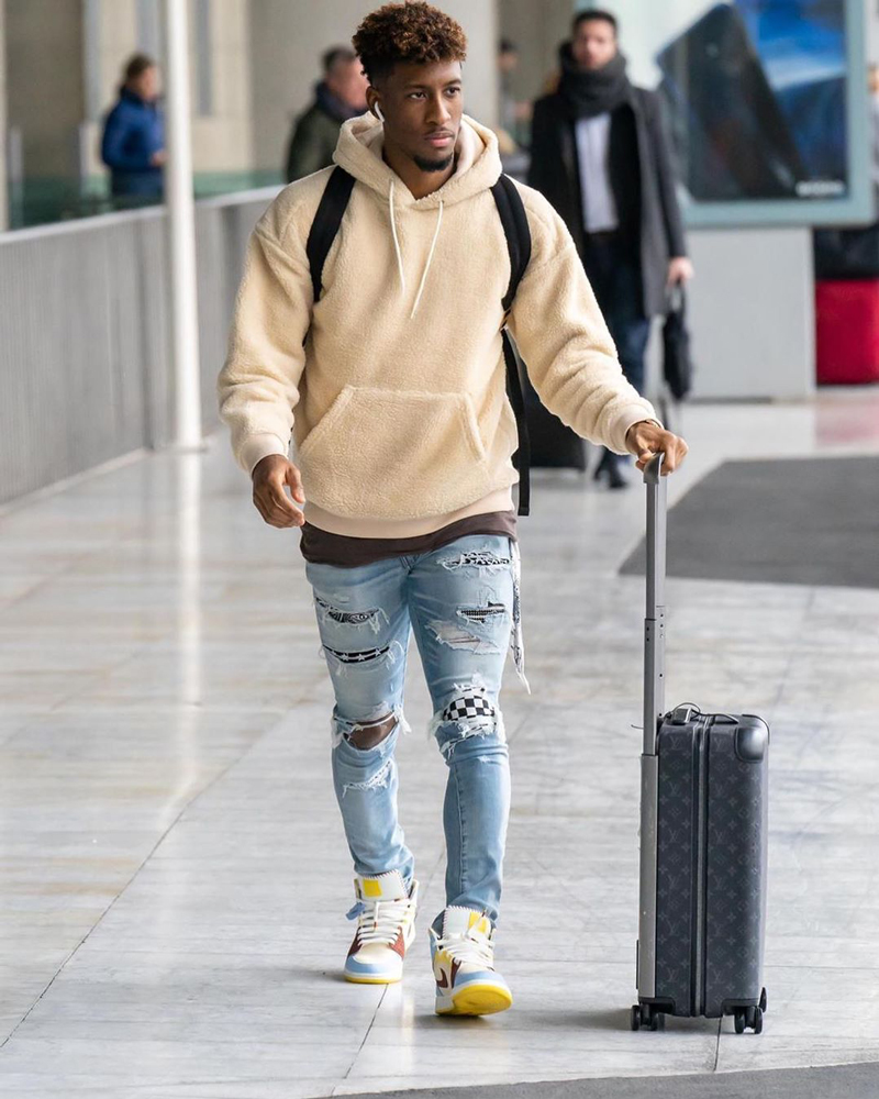 Kingsley Coman, Dress Code & Marcas de Moda