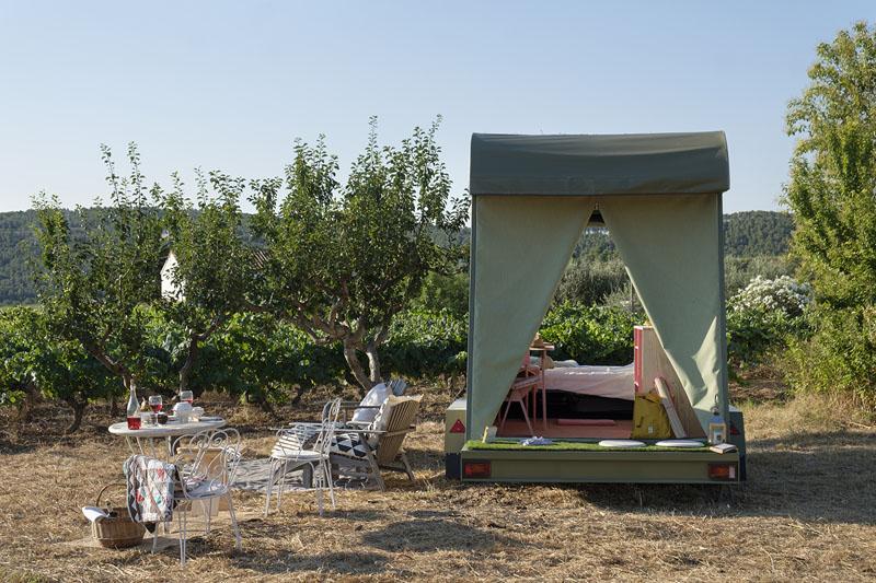 Pinea mobile room: eco-suite sobre ruedas de ERA architects