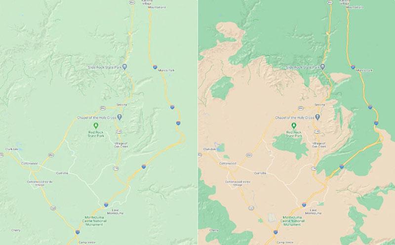 Ahora Google Maps nos ofrece muchos más detalles