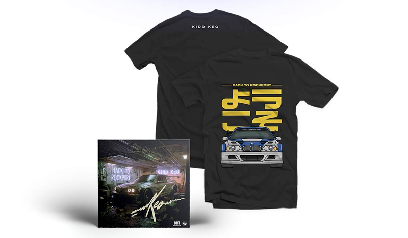 Kidd Keo lanza Back To Rockport, su primer álbum físico