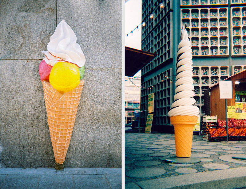 Los helados gigantes de Rocío Aguirre