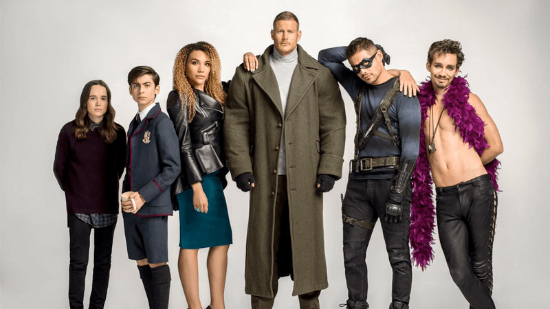 The Umbrella Academy Segunda Temporada en Netflix