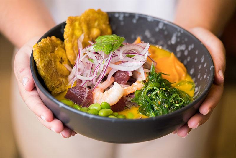 Distrito Ceviche: sabrosa comida rápida latina en Madrid